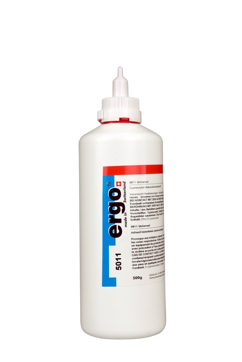 Kisling Ergo 5011 Universal Adhesive Cyanoacrylate 500g