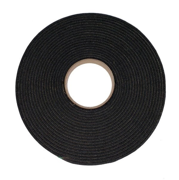 18mm x 8mm x 10M S/S PVC 4610 Scrim Adhesive Black Foam Tape