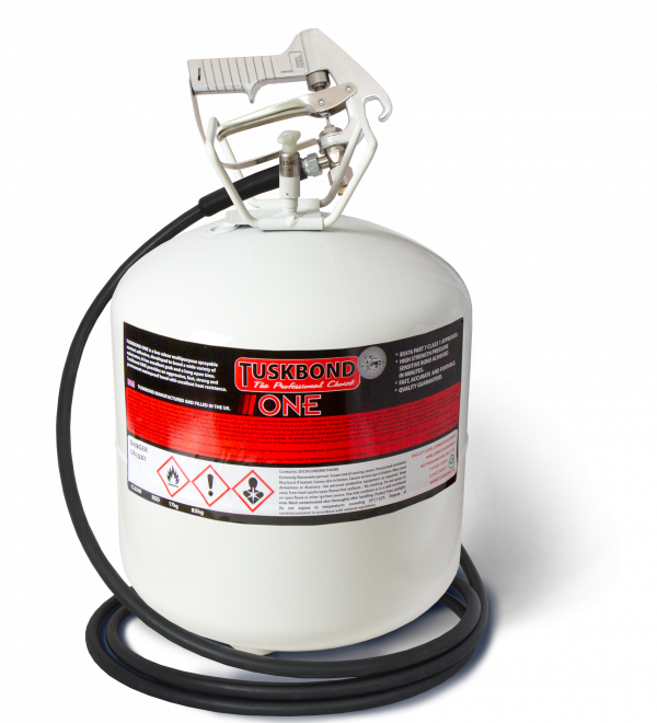 Tuskbond One Spray Contact Adhesive Canister 17Kg