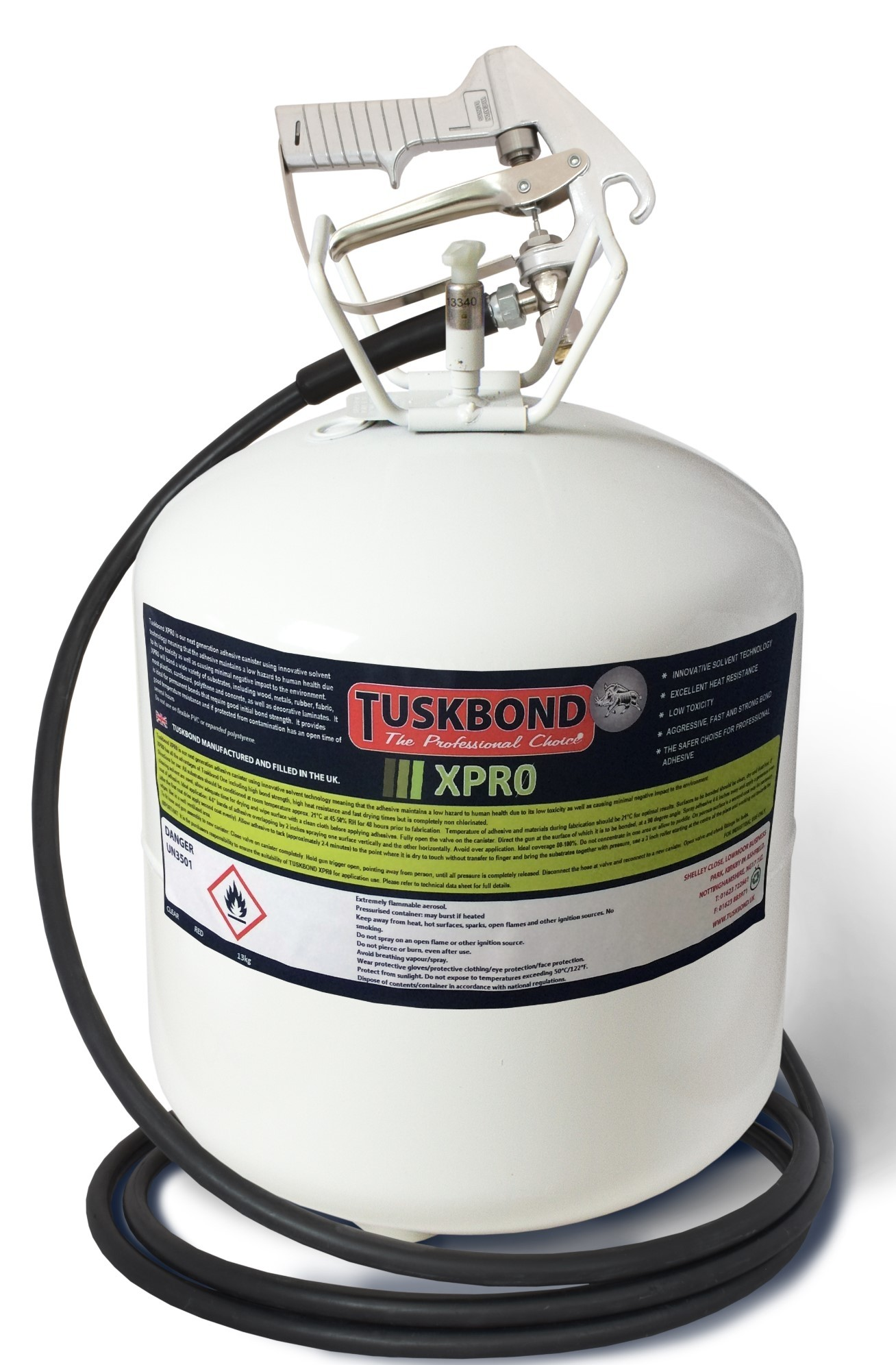 Tuskbond XPRO Spray Contact Adhesive 13kg