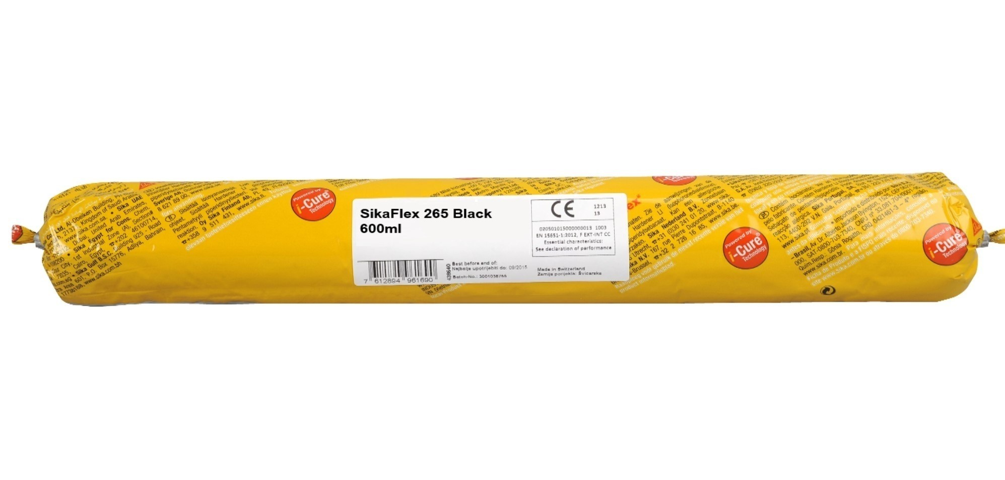 Sikaflex 265 Black Sealant 600ml