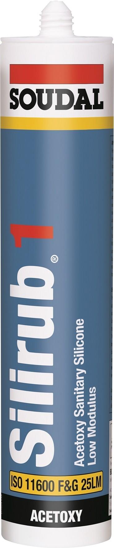 Silirub 1 Universal White Silicone 300ml