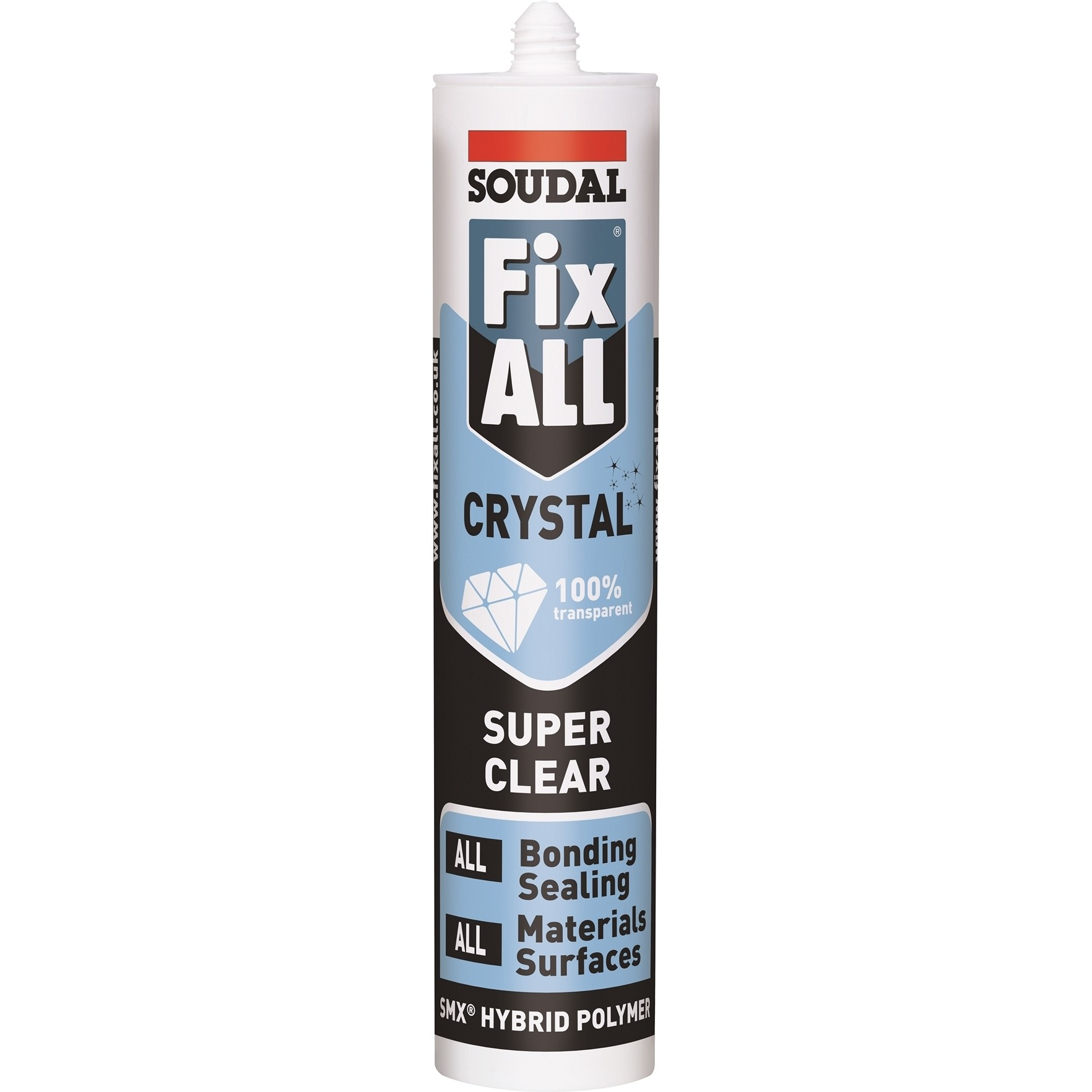 Soudal Fix All Crystal Trans MS Polymer 290ml