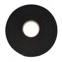 15mm x 4mm x 20M S/S PVC Black Foam Tape