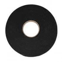 15mm x 6mm x 10M AS810 S/S PVC Black Foam Tape