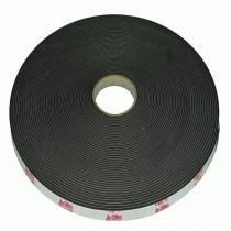 Sikatack D/S Adhesive Tape 12mm x 3mm x 33M Black