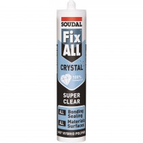 Soudal Fix All Crystal Trans MS Polymer 290ml